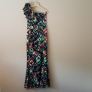 Jessica Simpson One Shoulder Gown Size 7